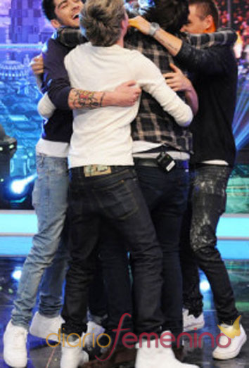 One Direction en El Hormiguero: abrazando a Pablo Motos
