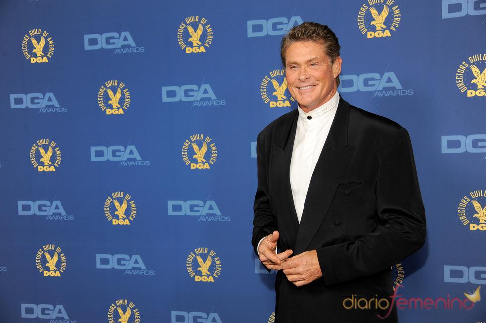 David Hasselhoff en los premios del Sindicato de directores 2013