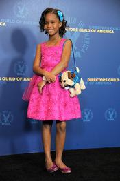 Quvenzhane Wallis en los premios del Sindicato de directores 2013