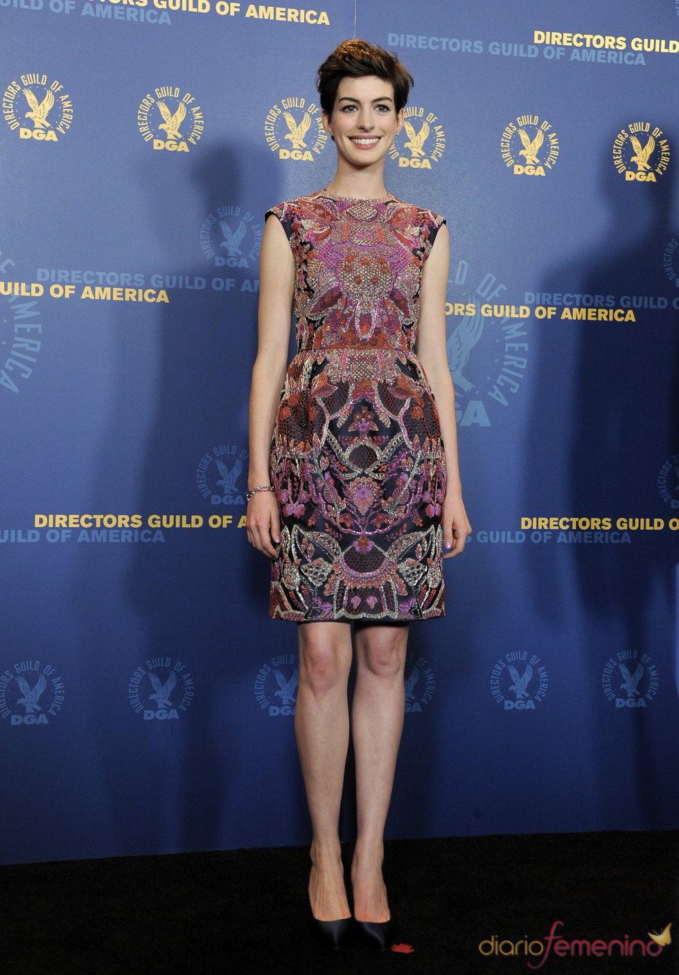 Anne Hathaway en los premios del Sindicato de directores 2013