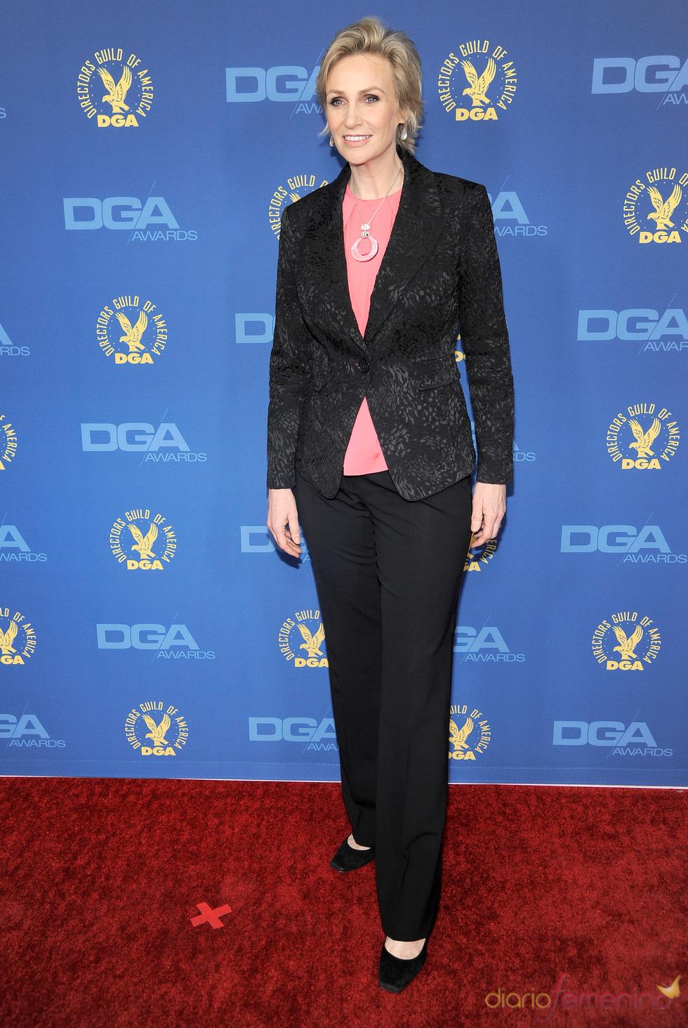 Jane Lynch en los premios del Sindicato de directores 2013