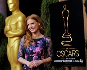 Jessica Chastain pone el color