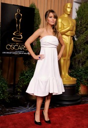 Jennifer Lawrence, blanco de moda