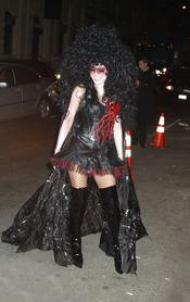 Disfraz de vampiresa lucido por Heidi Klum