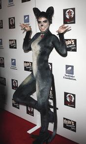 El disfraz de gato de Heidi Klum, uno de los más femeninos