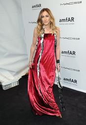 Sarah Jessica Parker en la gala de amfAR