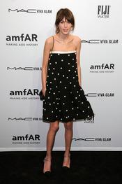 Alexa Chung en la gala de amfAR