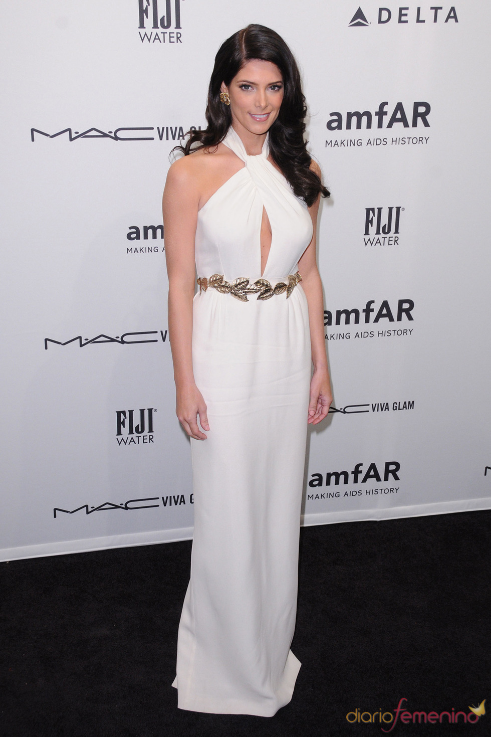 Ashley Greene en la gala de amfAR