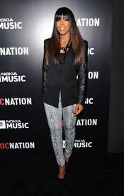 Kelly Rowland en la fiesta de RocNation pre Grammy 2013