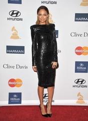 Nicole Richie en la fiesta pre Grammy 2013