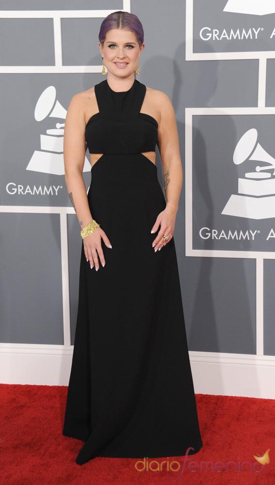 Kelly Osbourne en la gala de los Grammy 2013