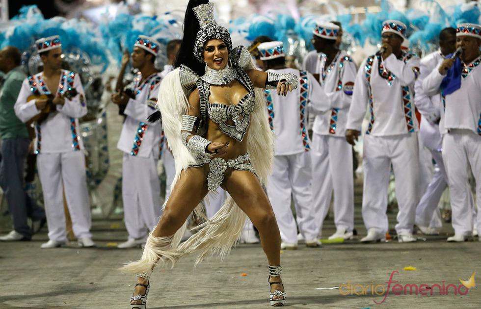 Los mejores bailarines, en el Sambódromo de Río de Janeiro de los Carnavales de Brasil 2013