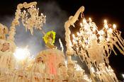 Espectaculares carrozas en el Carnaval de Río de Janeiro, Brasil 2013