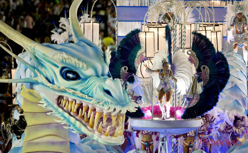 Magia y color en el Carnaval de Río de Janeiro 2013, Brasil