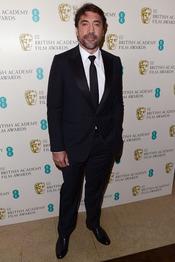 Javier Bardem en la gala de los Bafta 2013