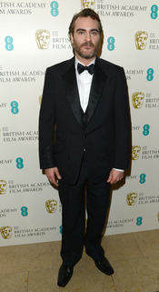 Joaquin Phoenix en la gala de los Bafta 2013