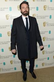 Ben Affleck en la alfombra roja de los Bafta 2013