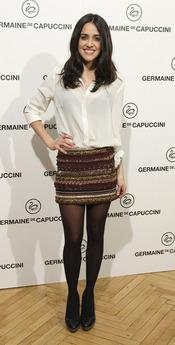 Macarena García durante los premios Carmen a la belleza más internacional del cine español 2013