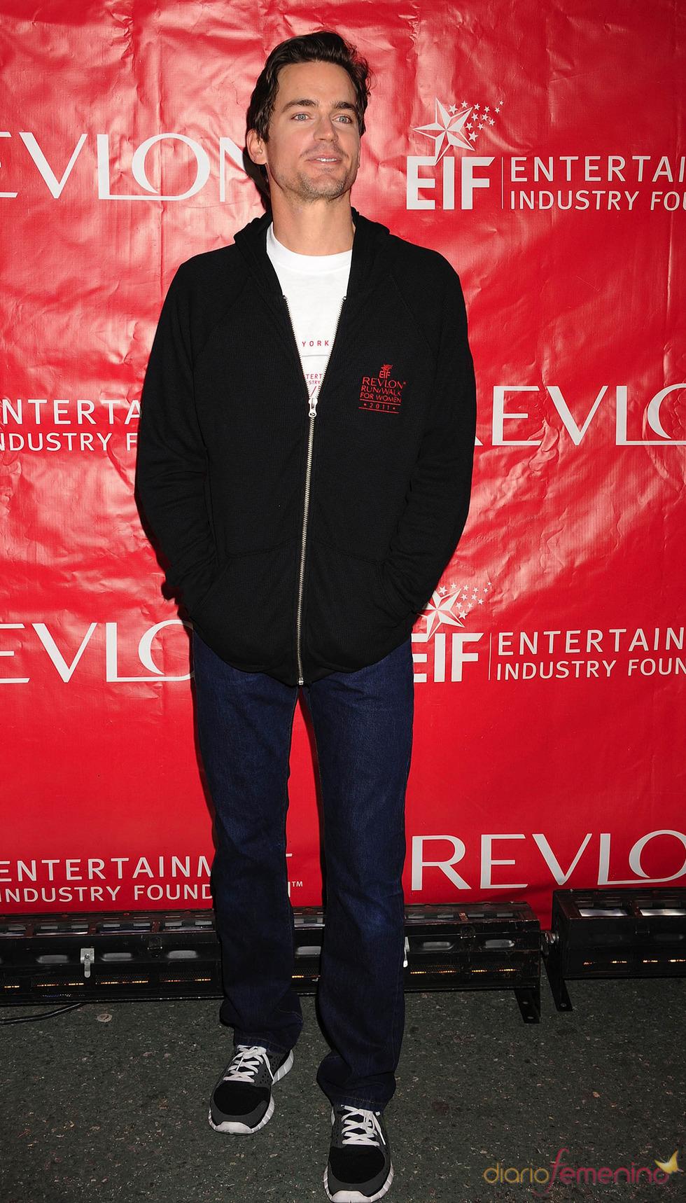 El actor Matt Bomer, protagonista de Ladrón de guante blanco en 2011