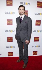 El candidato a encarnar a Christian Grey, Matt Bomer, en los Premios del Respeto 2012