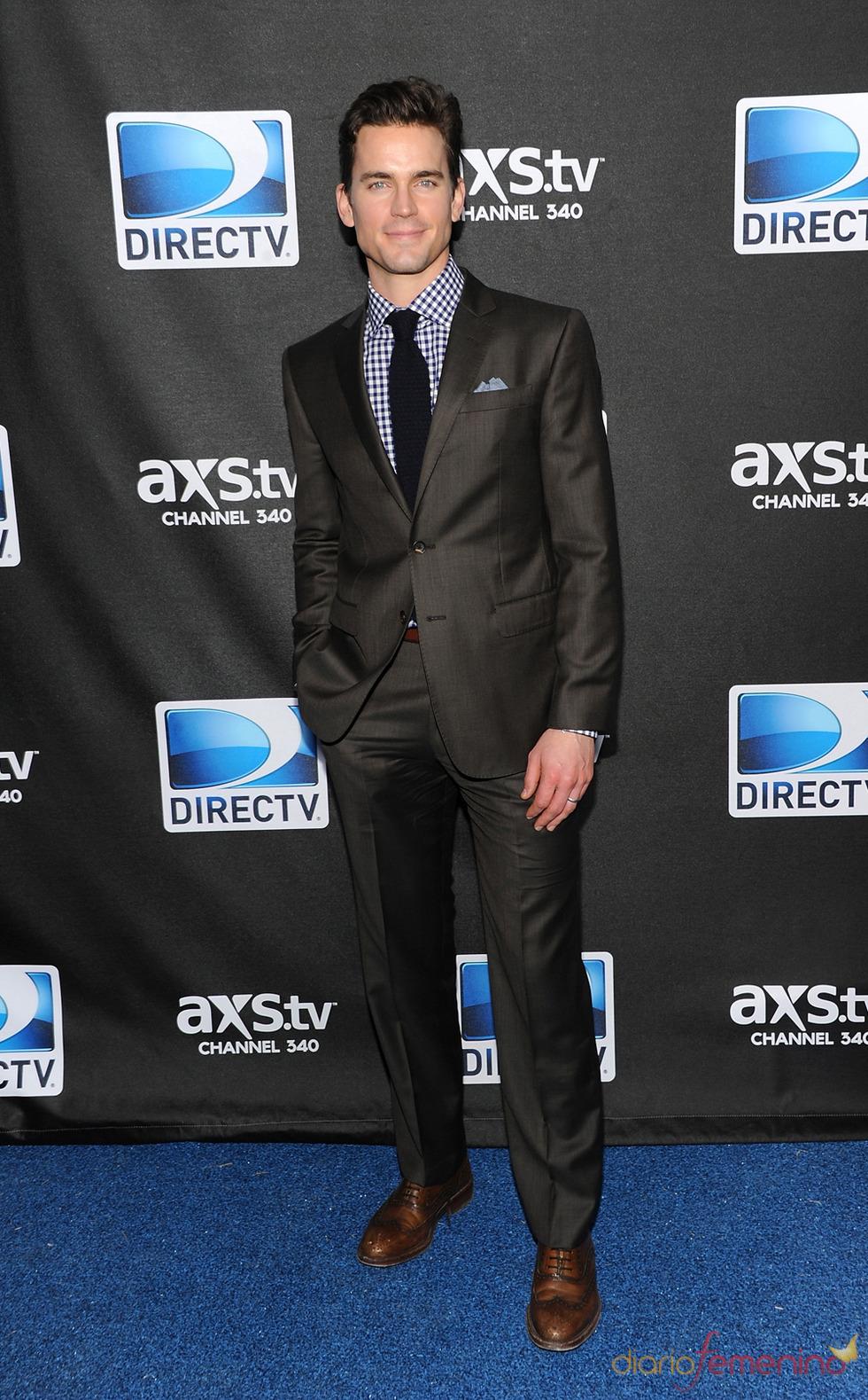 Matt Bomer, favorito para ser Christian Grey, en la fiesta del super sábado de DirecTV en 2013