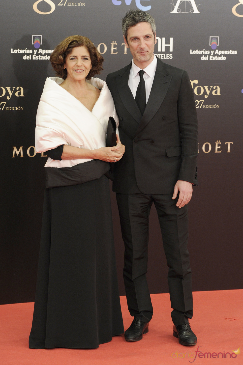 Ernesto Alterio en la alfombra roja de los Goya 2013