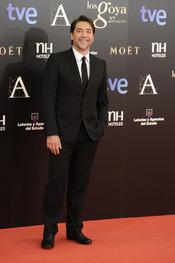 Javier Bardem en la alfombra roja de los Goya 2013