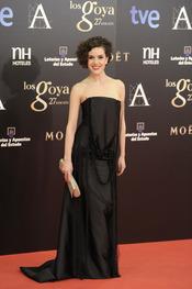 Roko en la alfombra roja de los Goya 2013