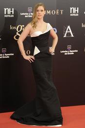 Manuela Vellés en la alfombra roja de los Goya 2013