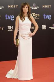 Marta Etura en la alfombra roja de los Goya 2013