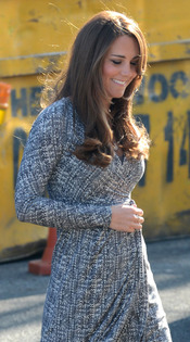 Kate Middleton, embarazada y protectora