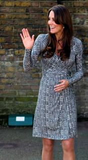 Las fotos de Kate Middleton, derroche de simpatía