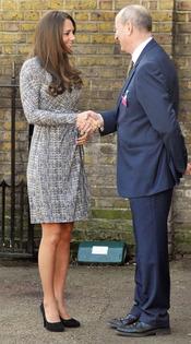 Kate Middleton, profesional en todo momento