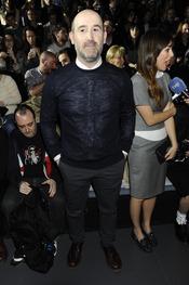 Javier Cámara en el desfile de David Delfín en la Cibeles Madrid Fashion Week 2013