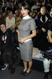 Blanca Suárez en el desfile de David Delfín en la Cibeles Madrid Fashion Week 2013