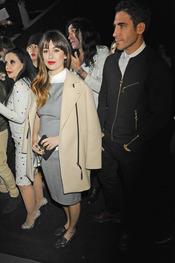 Blanca Suárez y Miguel Ángel Silvestre en el desfile de David Delfín en la Cibeles Madrid Fashion Week 2013