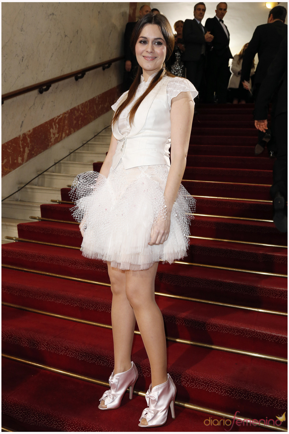 Emilie Simon en la alfombra roja de los César 2013