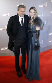 Kevin Costner en la alfombra roja de los César 2013