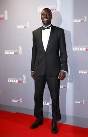 Omar Sy en la alfombra roja de los César 2013