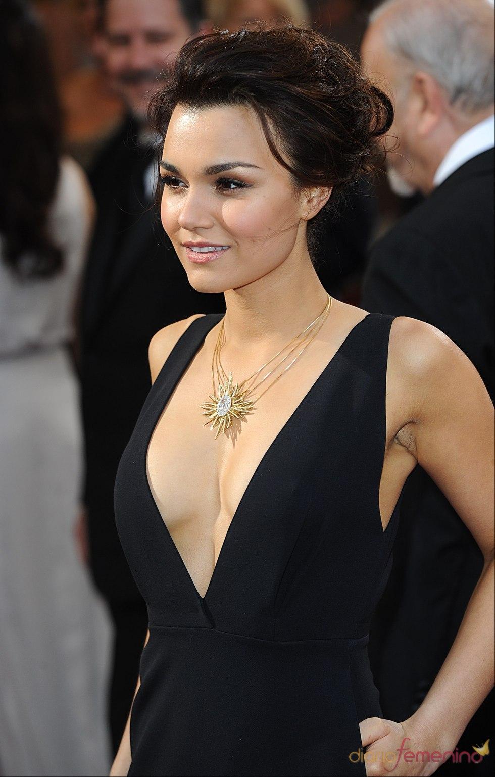 Samantha Barks en los Oscars 2013