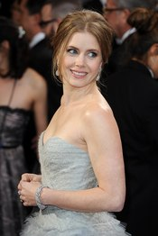 Amy Adams arriving for the 85th Academy Awards at the Dolby Theatre, Los Angeles.