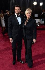 Hugh Jackman and Deborra-Lee Furness juntos en la alfombra roja
