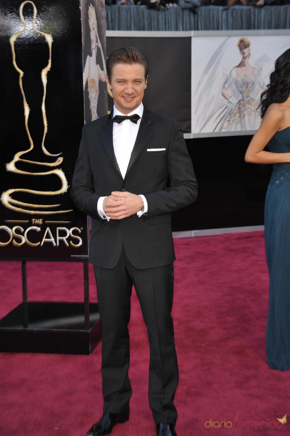 Jeremy Renner en los Oscars 2013