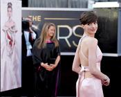 El vestido de Anne Hathaway en los Oscars 2013
