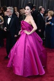 Fan Bingbing en la alfombra roja de los Oscars 2013