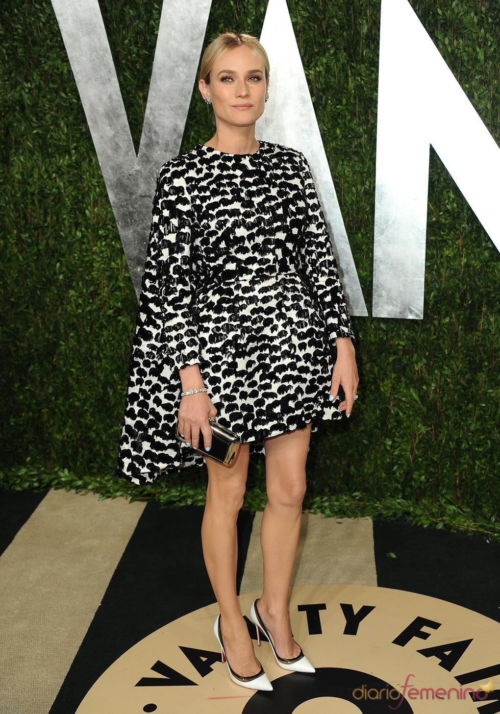 Diane Kruger en la fiesta de Vanity celebrada tras los Oscar 2013