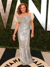 Diane Von Furstenberg en la fiesta de Vanity celebrada tras los Oscar 2013