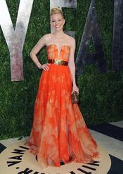 Elizabeth Banks en la fiesta de Vanity celebrada tras los Oscar 2013