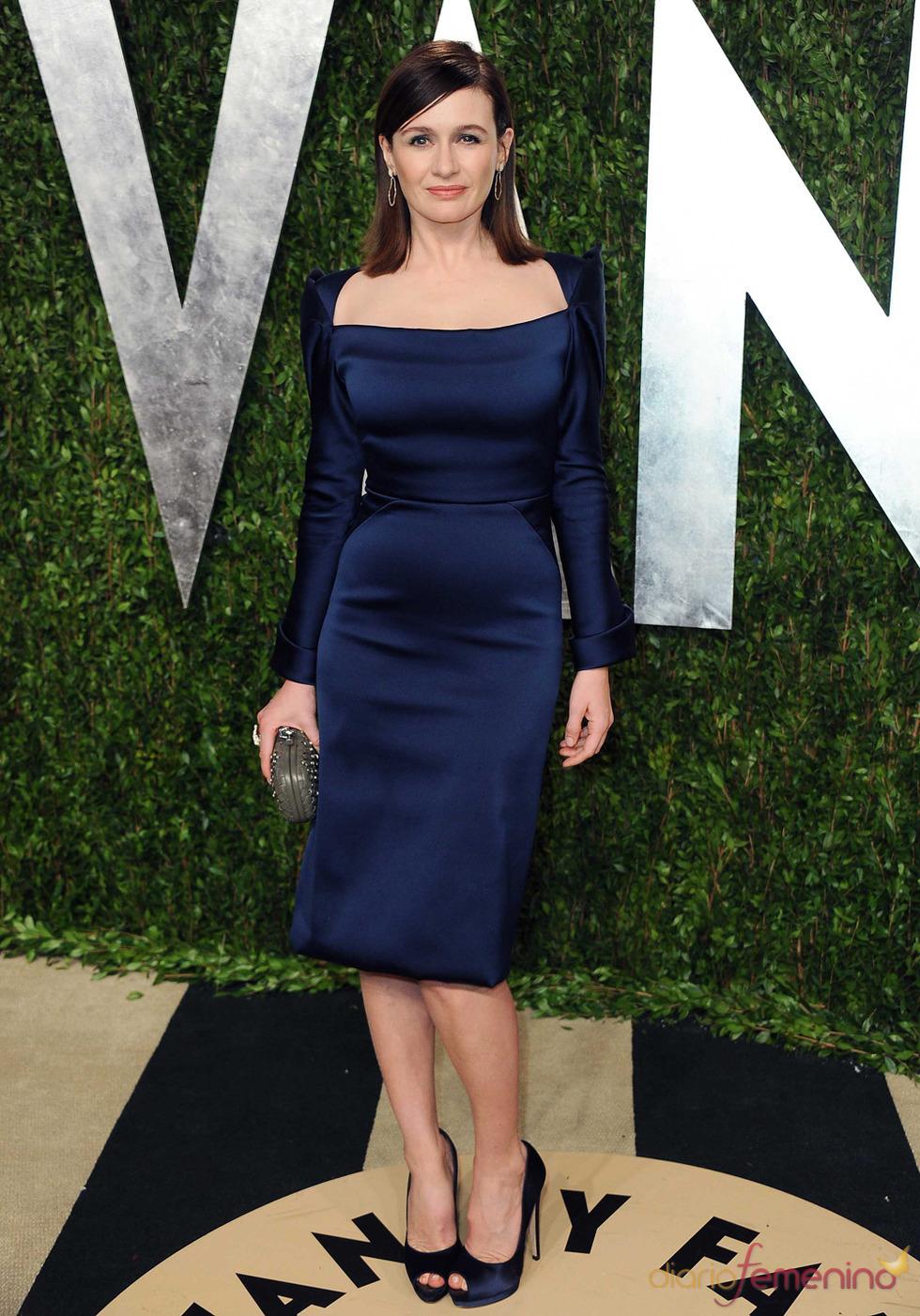 Emily Mortimer en la fiesta de Vanity celebrada tras los Oscar 2013