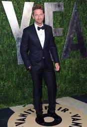 Gerard Butler en la fiesta de Vanity celebrada tras los Oscar 2013